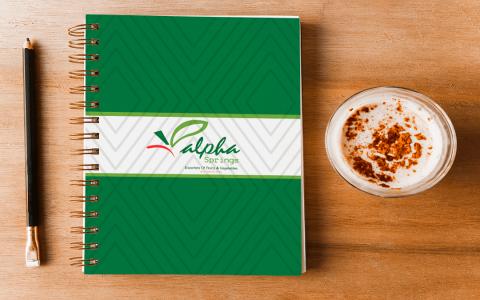 Alpha Springs Notebook